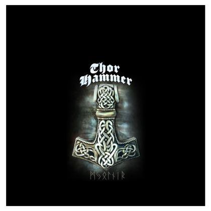 T-shirt femme Viking Collection - Thor Hammer (Mjollnir)