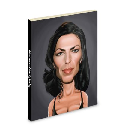 Claudia Black Celebrity Caricature Pocket Note Book