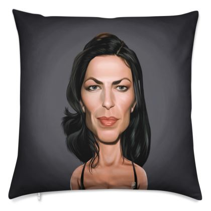 Claudia Black Celebrity Caricature Cushion