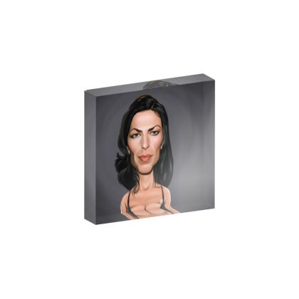 Claudia Black Celebrity Caricature Acrylic Photo Blocks