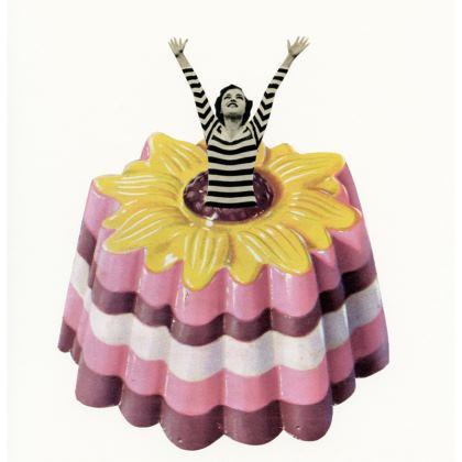 Velvet Cushion Blancmange Surprise