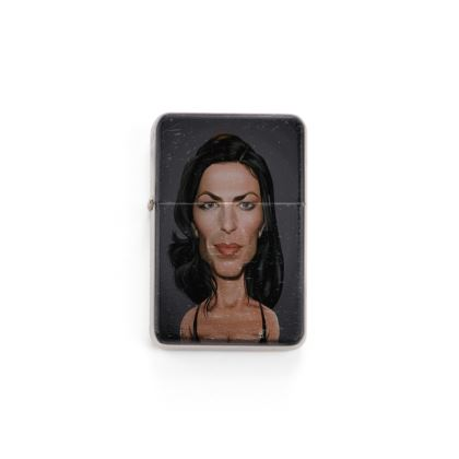 Claudia Black Celebrity Caricature Lighter