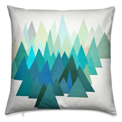 Velvet Cushion Cold Mountain