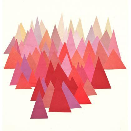 Velvet Cushion Indian Summer