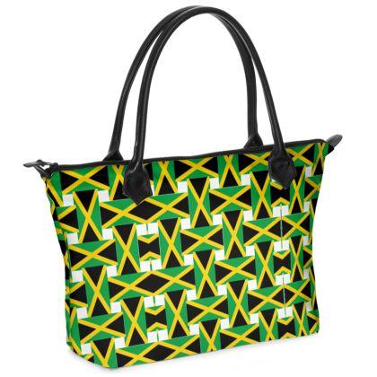 Jamaica Zip Top Handbag