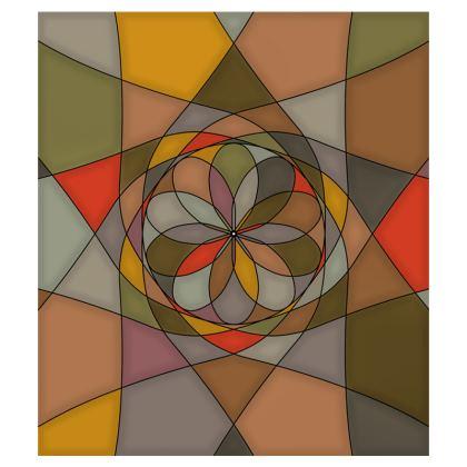 Flip Flops - Orange spiral