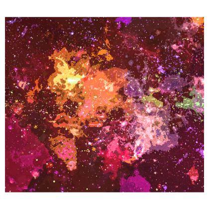 Espadrilles - Orange Nebula Galaxy Abstract