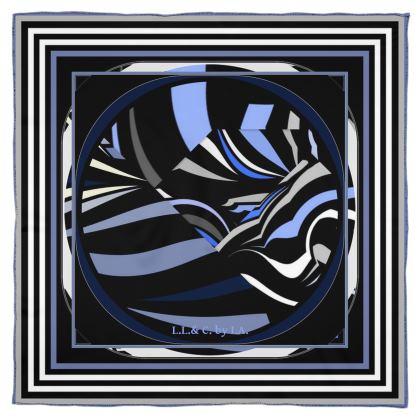 foulard in seta  collezione riflessi