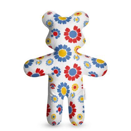 The Picnic Floral Teddy Bear