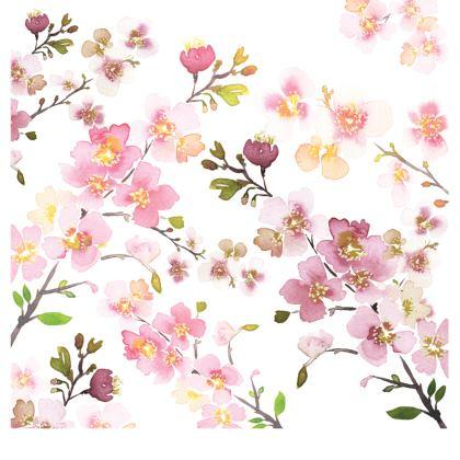 Zen Spring Blossom Handbags