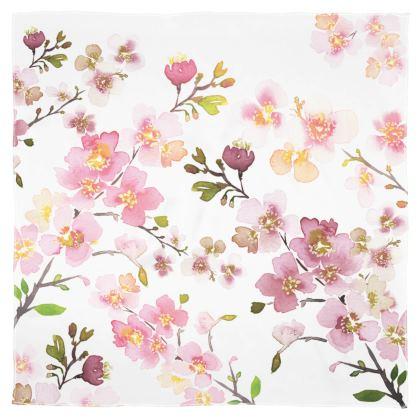 Zen Spring Blossom Scarf Wrap or Shawl