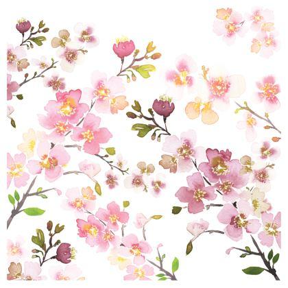 Zen Spring Blossom Kimono