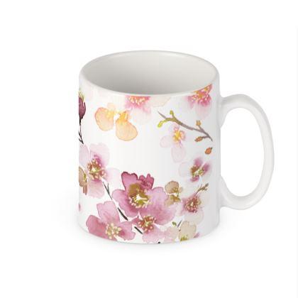 Zen Spring Blossom Mugs