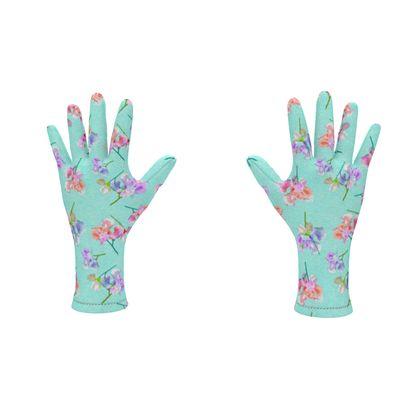 Fleece Gloves My Sweet Pea Fantasy Garden