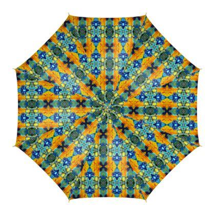 Regenschirm mit frischem Motiv Die Süße