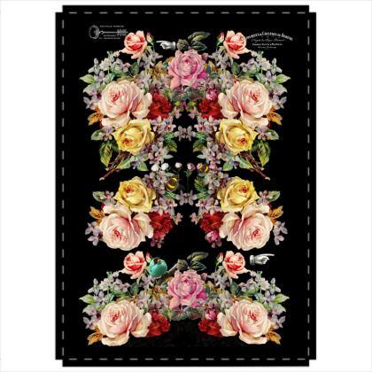 2 Panel Folding Screen Nuit des Roses 2021