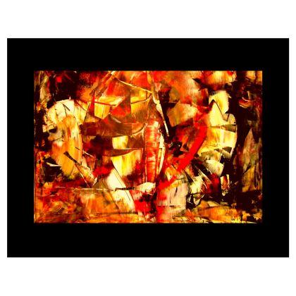 Feurige Tasche von der Designerin Petra Hüther
