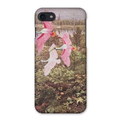 iPhone Case Flight of the Spoonbills
