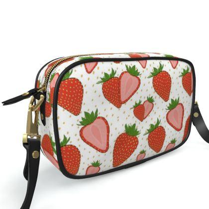 Sweet Strawberries - Camera Bag