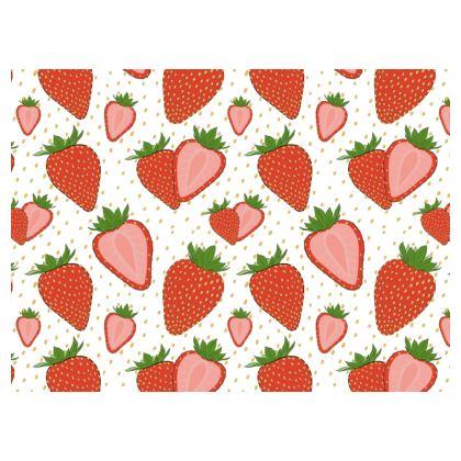 Sweet Strawberries - Crossbody Bag With Chain