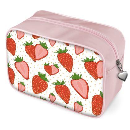 Sweet Strawberries - Wash Bags