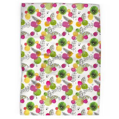 Spring Bubbles - Tea Towel