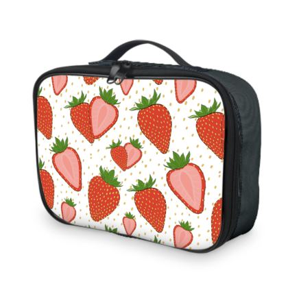 Sweet Strawberries - Lunch Bag