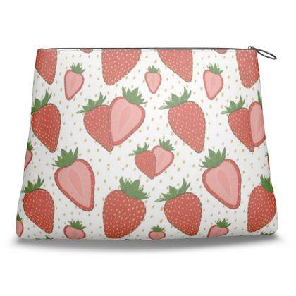 Sweet Strawberries - Clutch Bag