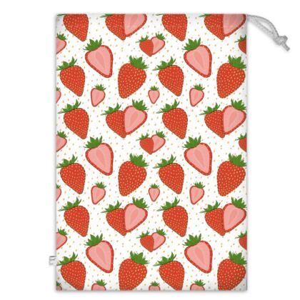 Sweet Strawberries - Toy Sack