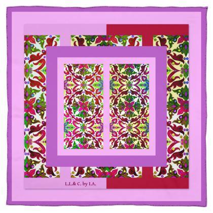 foulard collezione acquarello