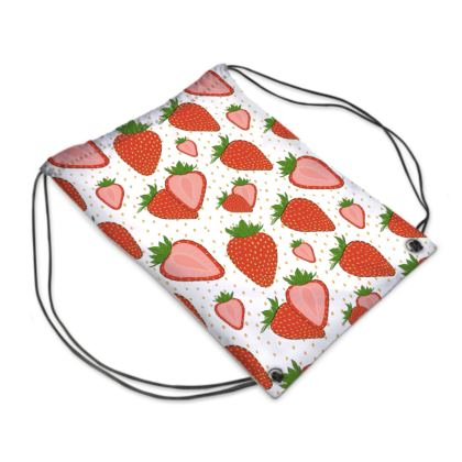 Sweet Strawberries - Swimming Bag