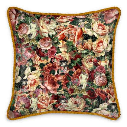 The Boudoir Silk Cushion