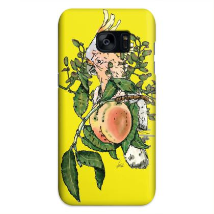 Yellow Samsung S7 Edge Phone Case