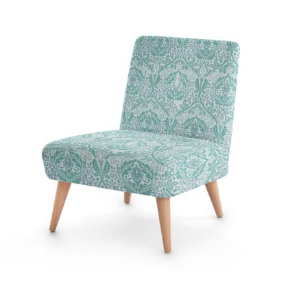 Occasional Chair - William Morris' Golden Bough Jade Remix