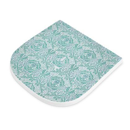 Seat Pad - William Morris' Golden Bough Jade Remix