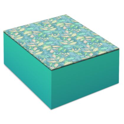 Jewellery Box  Slipstream   Teal Glade
