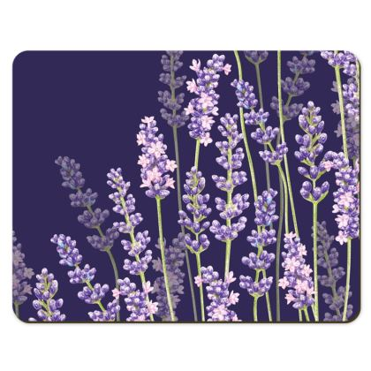 Placemats - Midnight Lavender Fancy