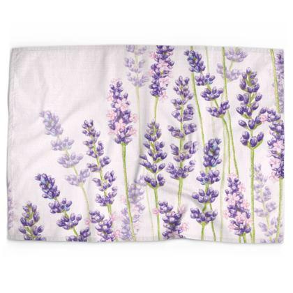Lavender Fancy Tea Towel