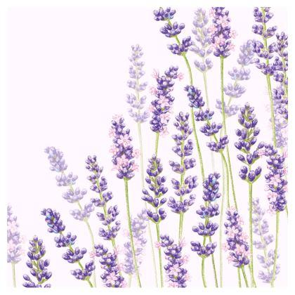 Lavender Fancy Zip Top Handbag