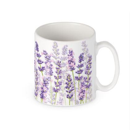 Ceramic Mug - Lavender Fancy