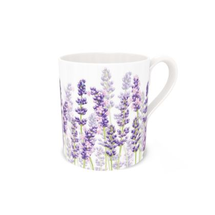 Regular Bone China Mug - Lavender Fancy