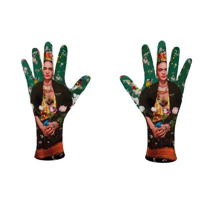 Fleece Gloves Wings to Fly Frida