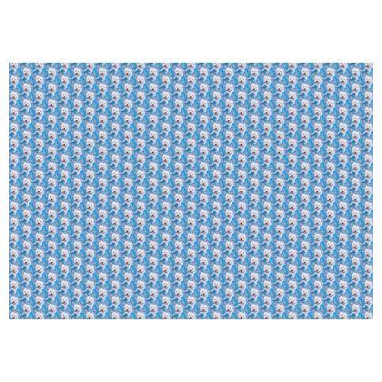 Millie the Westie Luxury Fine Art Print Skirt by Somerset (UK) Artist and Designer Amanda Boorman