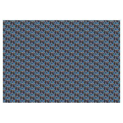 Mr Monkie Puzzle the St Bernard Fine Art Print Skirt by Somerset (UK) Artist and Designer Amanda Boorman