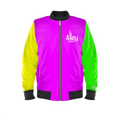 Alley of Apparels Multicoloured Unisex Bomber Jacket