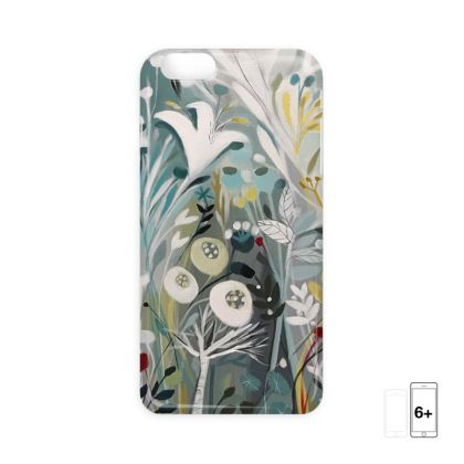iPhone 6 Case in Winter Greys design by Natalie Rymer