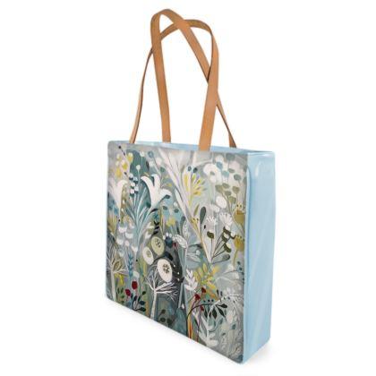 Shopper Bag in Winter Greys design by Natalie Rymer