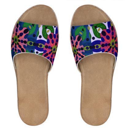 sandali estivi linea acquarelli