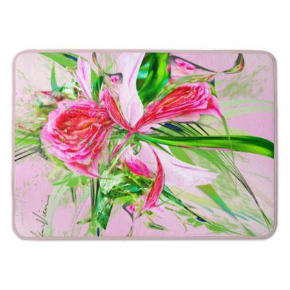 Bath Mat - Badrumsmatta - Pastells Pink