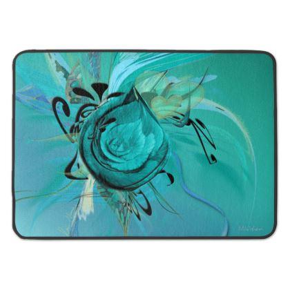 Bath Mat - Badrumsmatta - Turquoise Turquoise